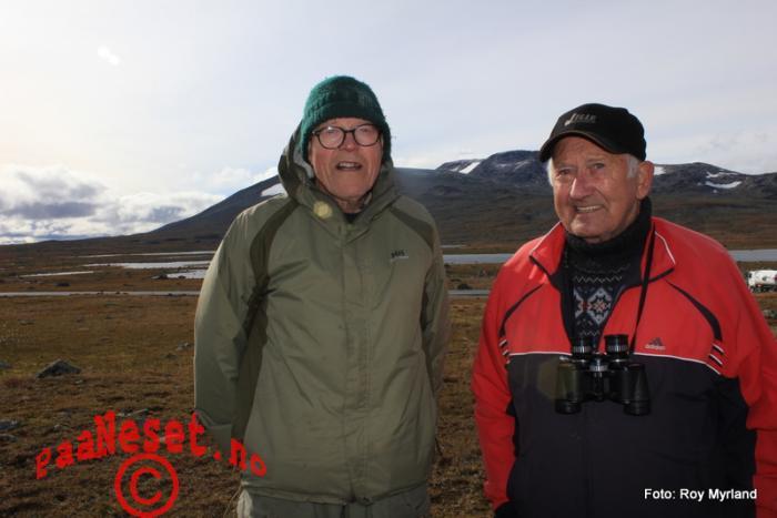 14 Knut Lund og Kjell Bekkeberg Foto Roy Myrland