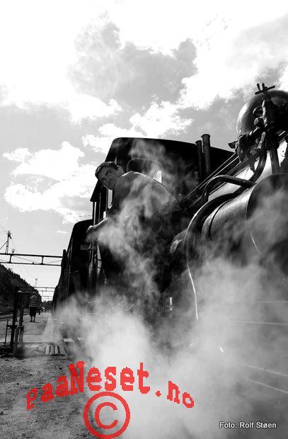 2 Damp Tog Veteran Jernbane Setesdalsbanen Foto Rolf Støen