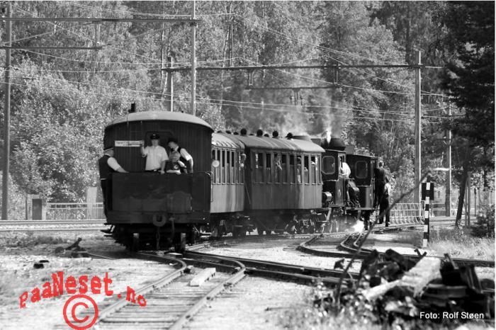 Avgang Damp Tog Veteran Jernbane Setesdalsbanen Foto Rolf Støen