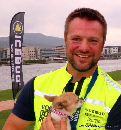 VOM Dog Run Drammen Hundens dag Hundeløp Hundemat Roy Storli