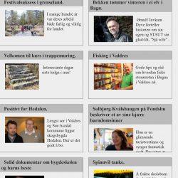 Valdres Sør-Aurdal Langsveien.no paaneset.no Pilegrim