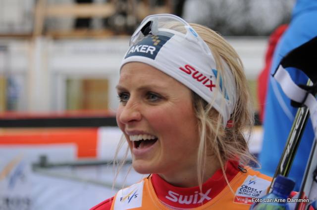 Therese Johaug slik vi vil se henne. Foto Jan Arne Dammen