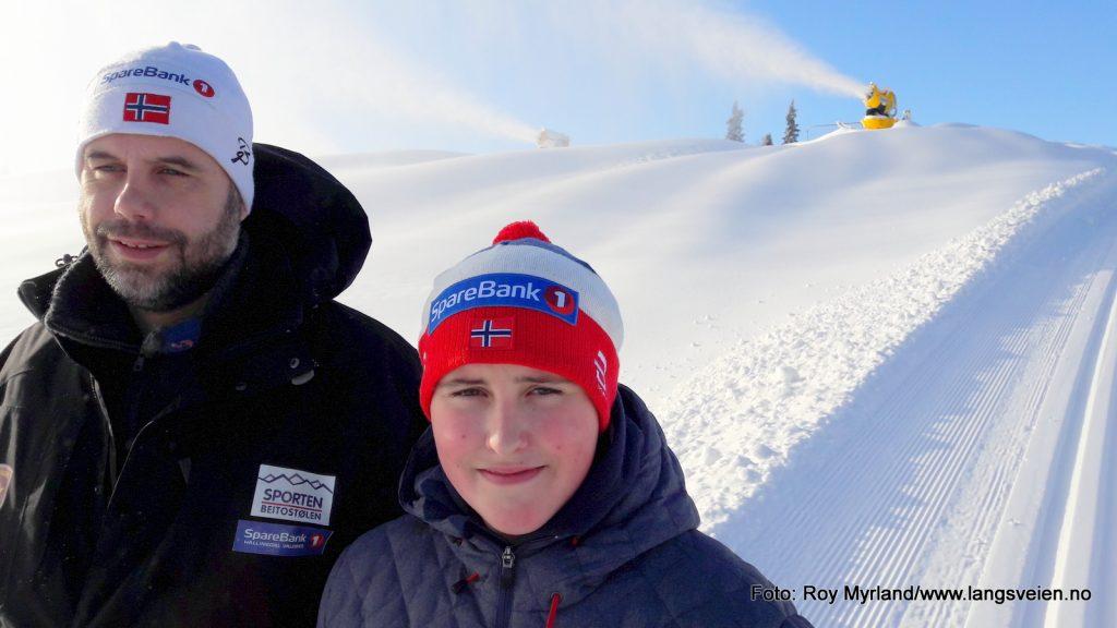 Jon Arild Myrvold Mads Langli Myrvold Beitostølen øystre slidre idrettslag danskebakken theres johaug foto roy myrland