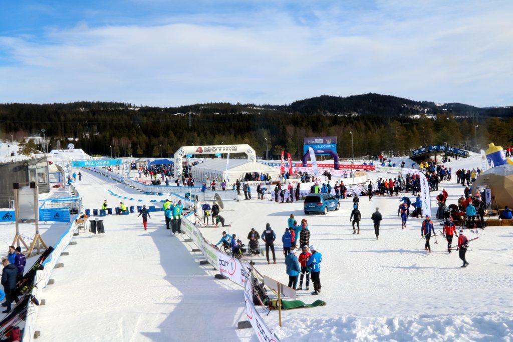 Birkebeineren skistadion på Lillehammer