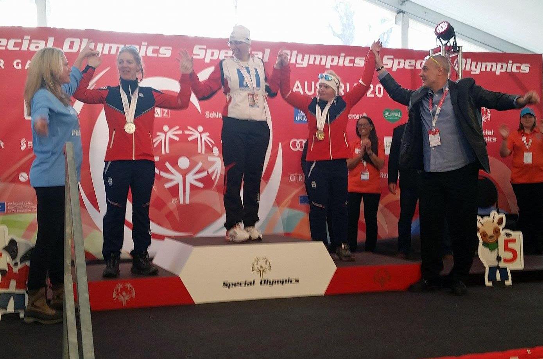 May jubler for bronsemedaljen i Special Olympics World Winter Games 2017