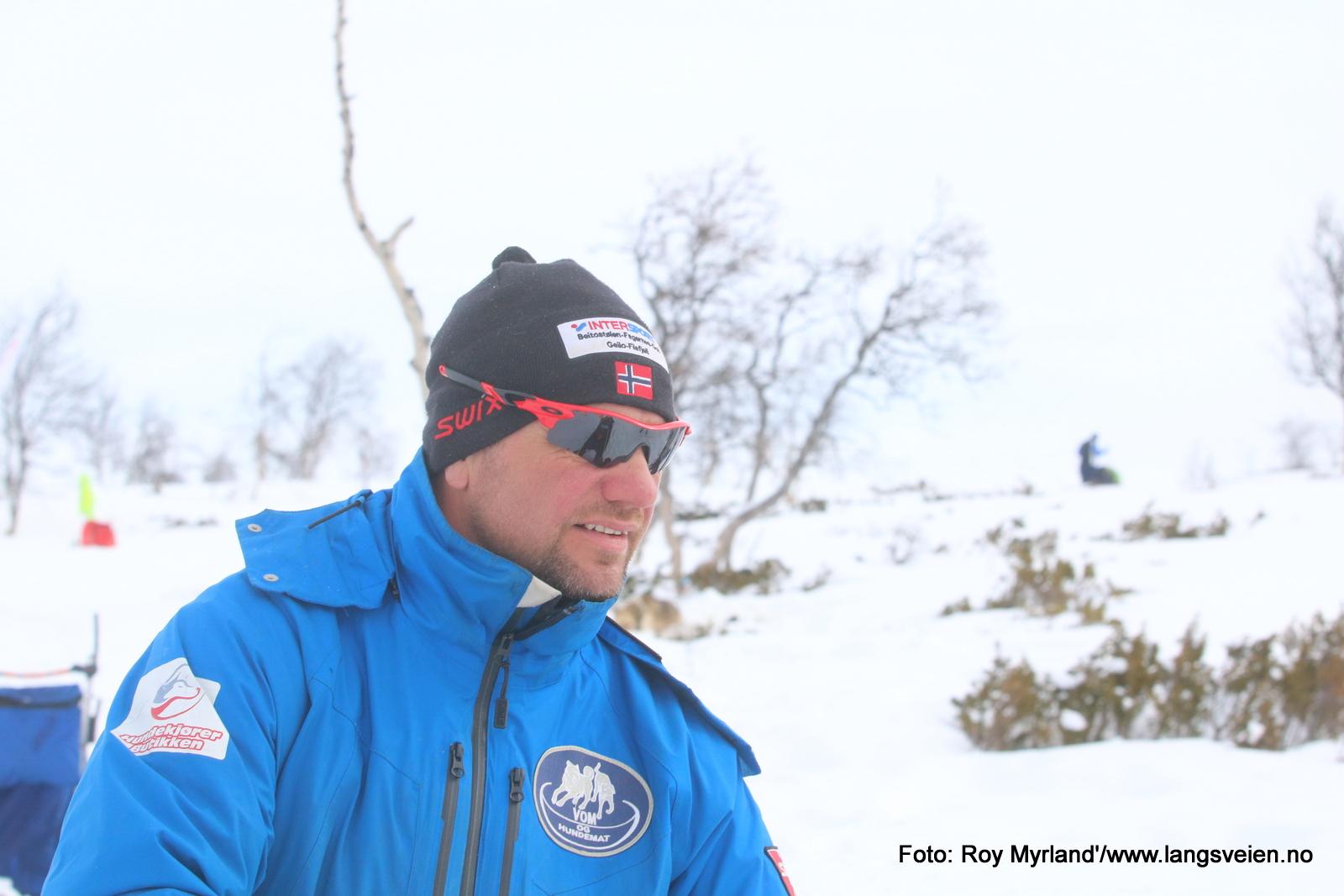 Roy Storli Vom og hundemat hundekjører paragliderpilot ridderuka foto roy myrland