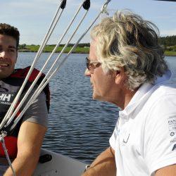 Axel Willums Korp sammen med primus motor for seilingen Steff Herbern Foto Jan Arne Dammen