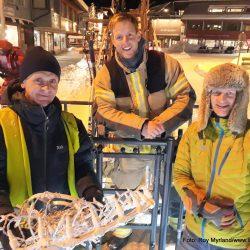 Håvard Halvorsen Raymond Vindenes Hauk-Håvard Myrvold julegate Fagernes VAldres Nord-Aurdal Norsk Rakviskfestival Foto Roy Myrland/www.langsveien.no
