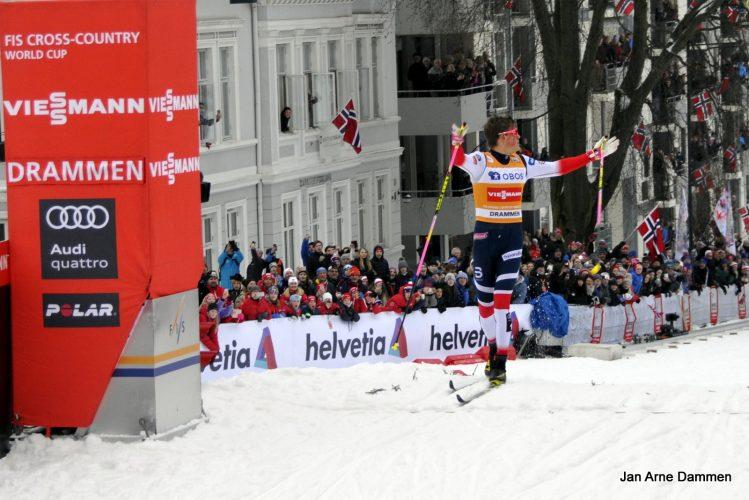 Thank you Drammen - skisprinten  en folkefest