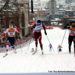 MAri Eide skprinten i Drammen 2018 . Foto roy myrland