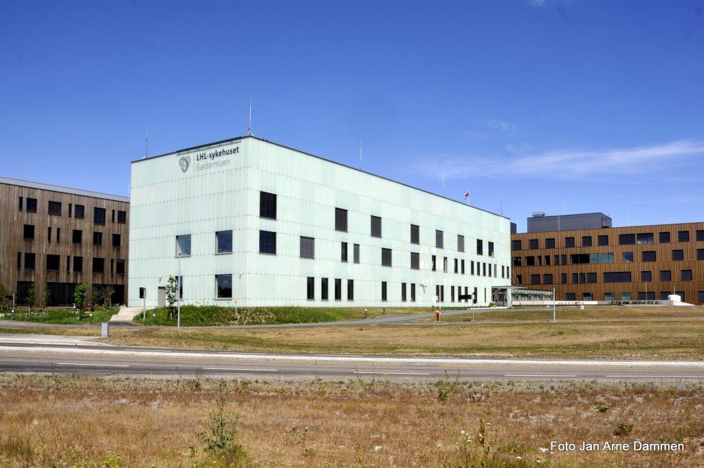 LHL sykehuset Gardermoen, foto Jan Arne Dammen