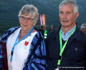 Ingebjørg og Magne Moe Jaslangen solefallkonsert Kongens fortjenestemedalje og Hilme
