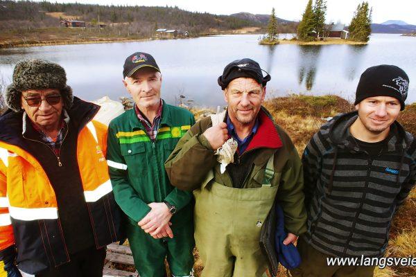 De fisker den STORE ørreten i Valdres