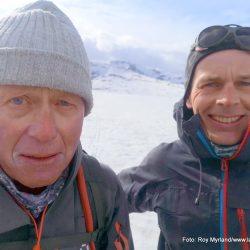 Vår skiløpere valdresflye rjukan Thorrud Mikkel Lier Foto Roy Myrland