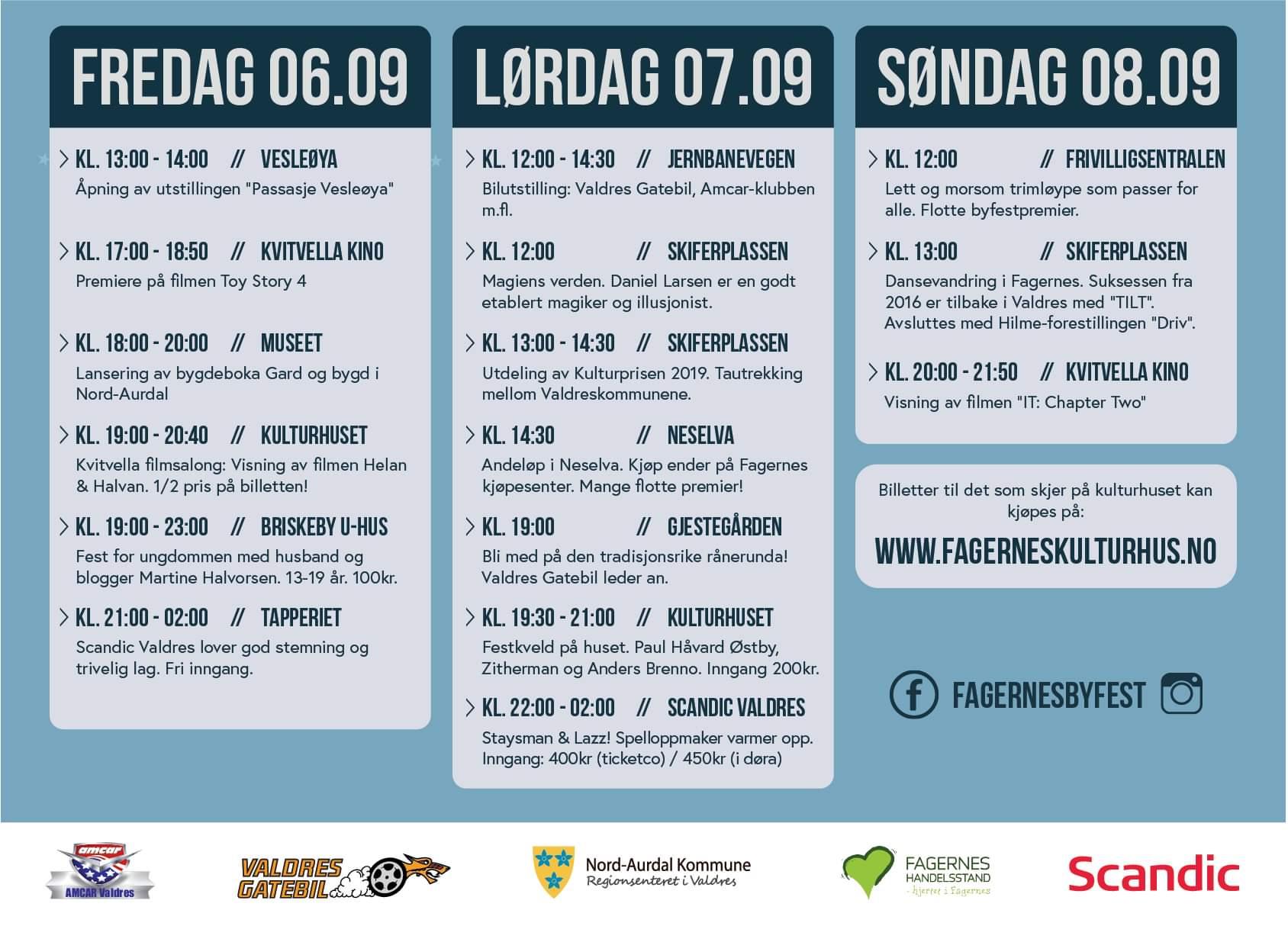 Byfest Fagernes 2019