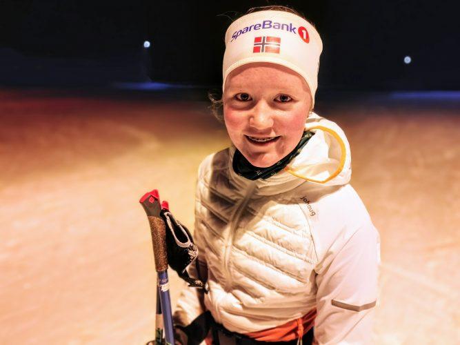 Anna Rosendal. -Langrennsløper i Skrautvål IL/Team Valdres Ski
