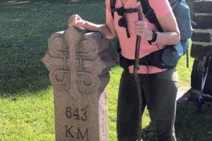 Vandring til Nidaros med Monica Martinsen. (Ca. 140  km. igjen til Nidaros).