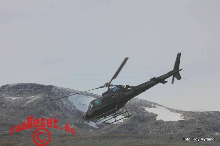 13 helikopter airflight beitostølen Foto Roy Myrland