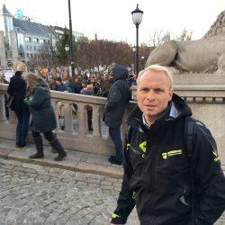 Erna Solberg Ulvejakt Gaute Nøkleholm Norskog Ulvesone Ulvekamp Norskog