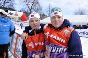 Vetle Nordbom og Alex Hovland Sunde Foto Jan Arne Dammen