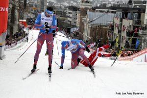 Kamp om plassene til siste meter i World Cup Drammen. Foto Jan Arne Dammen