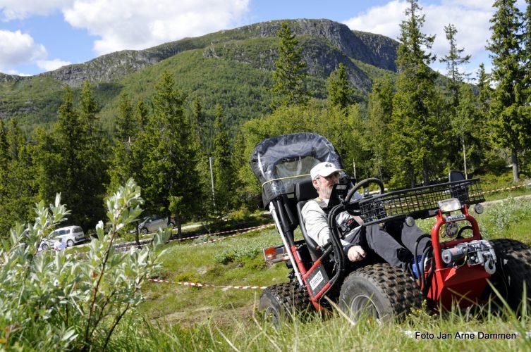 Fjellet for alle - Mountan Rally Rullestol 2018